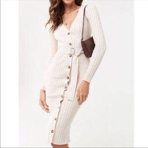 NWT Knit Ribbed Dress!
